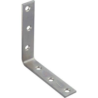 National Catalog 115 5 In. x 1 In. Zinc Corner Brace