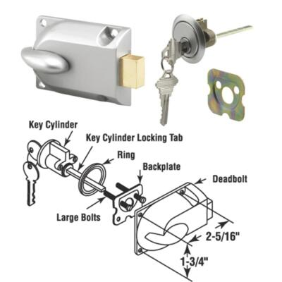 Prime Line Garage Door Lock
