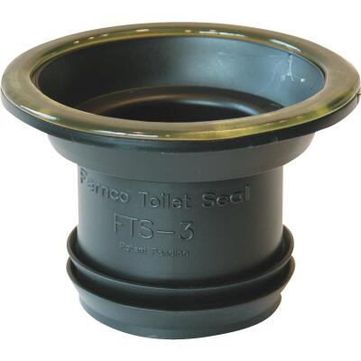 Wax-Free Toilet Gasket to Flange