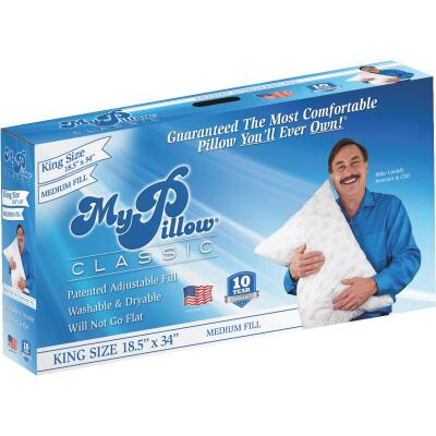 MyPillow Classic King Medium Fill Pillow