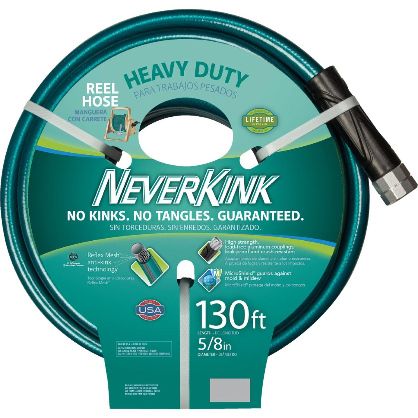 Neverkink 5/8 In. Dia. x 130 Ft. L. Heavy-Duty Garden Hose Image 2